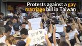 Anti-gay marriage protest rocks Taiwan's capital