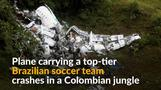 Over 70 dead in plane crash carrying Brazilian soccer team Chapecoense