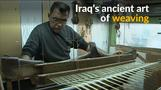 In holy city of Najaf, Iraqi weavers keep ancient tradition alive