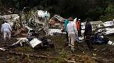 Morgue working to identify Colombia crash victims