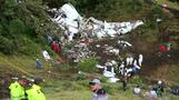 'Lack of fuel' reports in Colombia plane crash