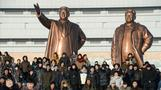 Giant statues on North Korea's new sanctions list