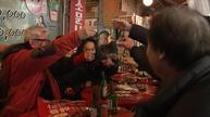 Businesses boom at South Korea protest venue