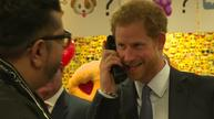 Prince Harry turns trader for charity day