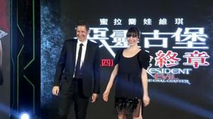 """Jovovich and Anderson bring """"Resident Evil"""" to Taiwan"""