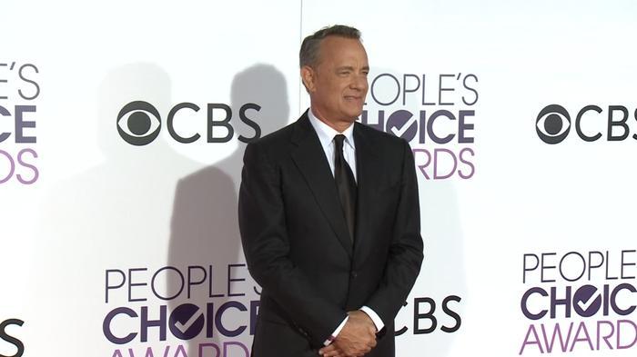 JLo, Tom Hanks walk People's Choice red carpet