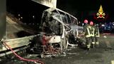 Sixteen dead, mostly Hungarian teenagers, in Italy bus accident - police