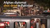 Afghan diplomat killed at consulate in Pakistani city