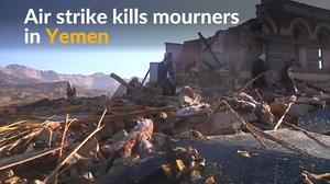 Mourners killed in Yemen air strike