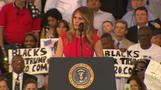 Melania Trump vows to \