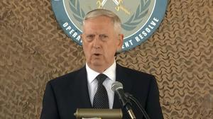 Mattis pledges continued support of Iraqi army