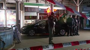 One dead after man drove into crowd in German town