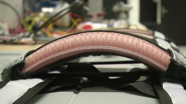 Silicone rubber robots could vastly improve mobility for the infirm, say researchers