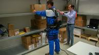 Exoskeleton takes the strain off repetitive lifting