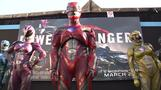 Rebooted Power Rangers return to the cinema