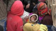 Hungry and afraid, hundreds of people flee IS-held Hawija