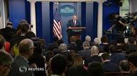 白宫发言人称特朗普已明确警告朝鲜