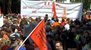 Greek stocks slide after debt deal hopes dashed