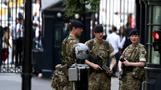 Troops deployed around London's Westminster as part of 'Operation Temperer'