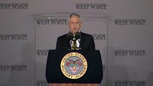 Mattis to West Point grads: Terrorism must not define us