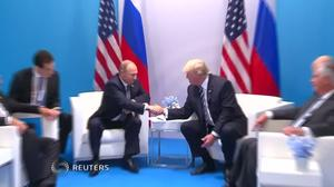 Trump and Putin held a second undisclosed meeting at the G20 summit