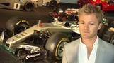 Rosberg adds F1 winning car to Mercedes museum