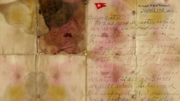 Titanic letter sold for record 126,000 pounds