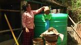 Domestic biodigester designed for flood prone countries