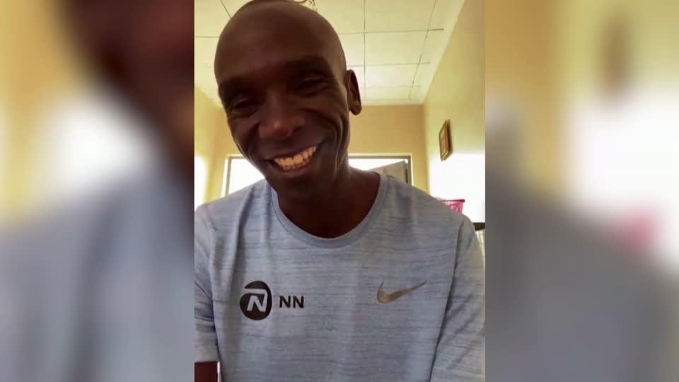 Kenya's Kipchoge undecided on postponed Olympics