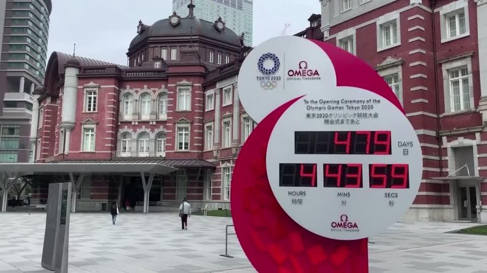 Only 479 days to go: Tokyo resets the Olympic clock