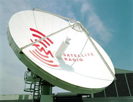An XM Satellite Radio dish is seen in this undated handout photo.The two main satellite radio providers, XM Satellite Radio Holdings Inc. and Sirius are expected to announce a long-awaited merger on Monday, according to the New York Post. REUTERS/Handout/John Harrington