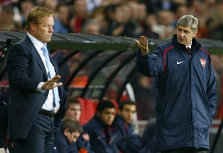 Koeman tactics pay off against arsenal reuters for Lampen reuter