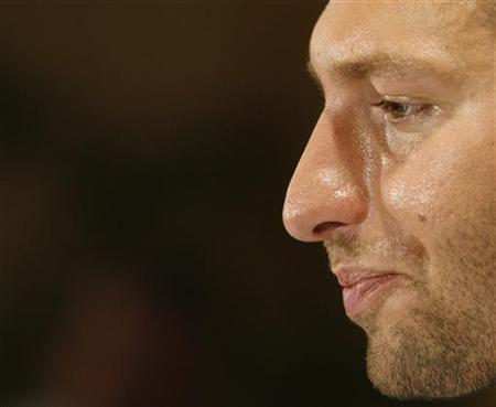 Australia's world and Olympic swimming champion swimmer Ian Thorpe is shown reacting to a question during a news conference in Sydney, Australia, in this November 21, 2006 file photo. Thorpe was shocked to learn he was the subject of a doping investigation following a report in French newspaper L'Equipe, Australian swimming officials said on Saturday. REUTERS/David Gray