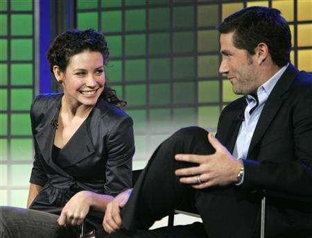 Stars of the Disney/ABC series ''Lost'', Evangeline Lily (L) and Matthew Fox (R), at the 2007 International Consumer Electronics Show (CES) in Las Vegas, Nevada January 8, 2007 file photo. Three days after the controversial finale of ''The Sopranos,'' the two creators of ''Lost'' on Wednesday promised that their hit ABC drama would not conclude in similarly murky fashion. REUTERS/Rick Wilking