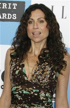 Actress Minnie Driver arrives at Film Independent's Spirit Awards in Santa Monica, California, in this February 24, 2007 file photo. Driver has signed on to voice Lara Croft in the Tomb Rader-focused season of ''Re''Visioned,'' an online animated series debuting July 10 on GameTap, Turner Broadcasting's broadband entertainment network. REUTERS/Fred Prouser