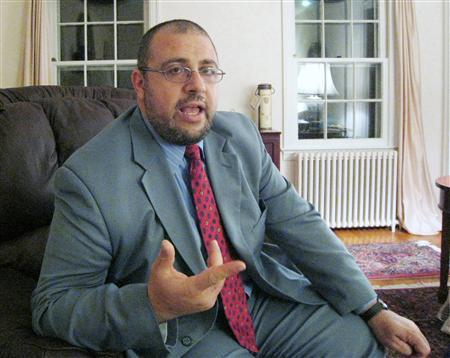 Yahya Hendi, 40, speaks during an interview in Washington June 11, 2007. Hendi, 40, is the Muslim chaplain at Georgetown University, a Catholic institution that in 1999 became the first university in the United States to hire a full-time imam. REUTERS/Tom Heneghan/Handout