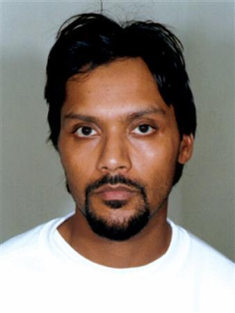 A police handout photograph released on November 6, 2006 shows Dhiren Barot. Barot, serving 30 years in jail for planning ''dirty bomb'' attacks in Britain and plotting to blow up U.S. financial institutions, has been scarred for life after an attack in prison, his lawyer said on Monday. REUTERS/Handout