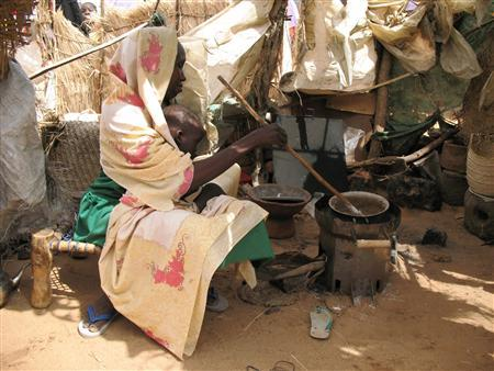 in an undated photograph. Scientists there have created a device that, though it can be built out of scrap metal, has the potential to alleviate suffering for some of the 2.2 million displaced people in Sudan's troubled Darfur region. REUTERS/Michael Helms/Handout