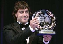 <p>Il due volte campione del mondo di Formula Uno, lo spagnolo Fernando Alonso. REUTERS PICTURE</p>