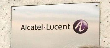 <p>Alcatel-Lucent annonce la cession de ses 49,9% dans Draka Comteq à Draka Holding NV pour 209 millions d'euros. /Photo d'archives/REUTERS/Benoît Tessier</p>