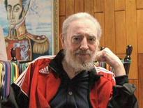 <p>Il leader cubano Fidel Castro durante il suo incontro all'Avana col presidente brasiliano Luiz Inacio Lula da Silva. REUTERS/Luiz Inacio Lula da Silva/CubaVision TV/Handout (CUBA). EDITORIAL USE ONLY. NOT FOR SALE FOR MARKETING OR ADVERTISING CAMPAIGNS.</p>