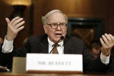 <p>Warren Buffett, presiente e ad di Berkshire Hathaway. REUTERS/Jason Reed</p>