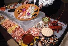 <p>Immagine di un ristorante giapponese. REUTERS/Phil McCarten (UNITED STATES)</p>