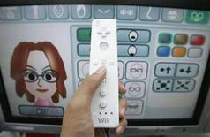 <p>Una schermata del videogioco Nintendo Wii, attualmente il più venduto al mondo. REUTERS/Yuriko Nakao</p>