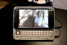 <p>L'Internet Tablet Nokia N810. REUTERS/Kimberly White</p>