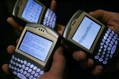 <p>Dei BlackBerry. REUTERS/Mario Anzuoni/Files</p>