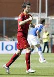<p>Christian Panucci della Roma in campo. REUTERS/Giampiero Sposito</p>