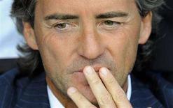 <p>Roberto Mancini in una foto d'archivio. REUTERS/Max Rossi (ITALY)</p>