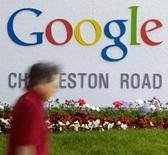 <p>Google a dévoilé Google Health, son très attendu service d'informations médicales sur internet. Le service (http://www.google.com/health/), protégé par un mot de passe, établit un profil de l'utilisateur à partir des données médicales élémentaires qu'il aura stockées et lui propose des informations pertinentes. /Photo prise le 8 mai 2008/REUTERS/Kimberly White</p>