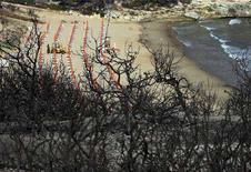 <p>Una spiaggia in Puglia. REUTERS/Fabio Serino</p>